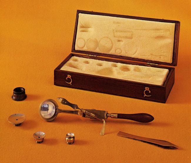 Lieberkuhn – type microscope, 1800