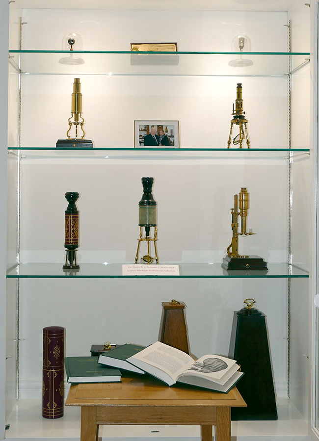 The McCormick Collection of Microscopes
