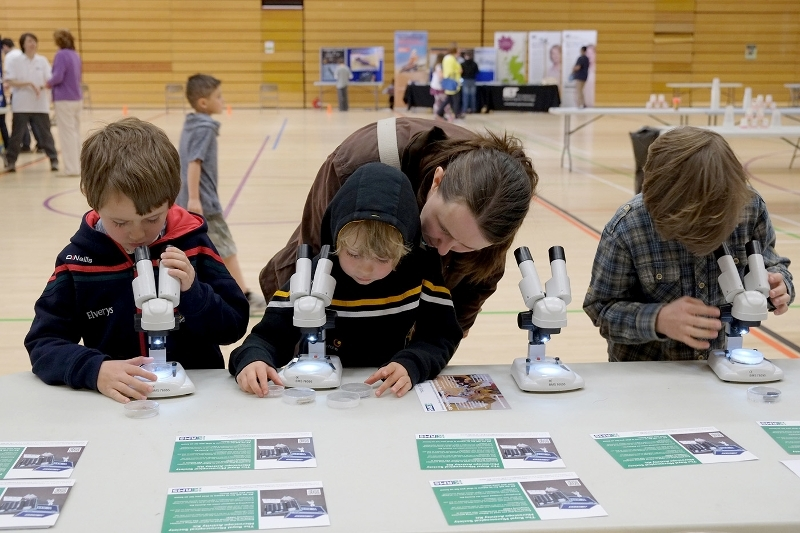 The RMS at the Inverness Science Festival 2015